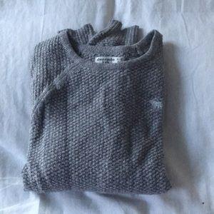 Glittery Gray Sweater